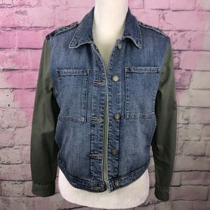 Anthropologie Jackets & Coats - Anthro Pilcro and the Letterpress Denim Jacket SP